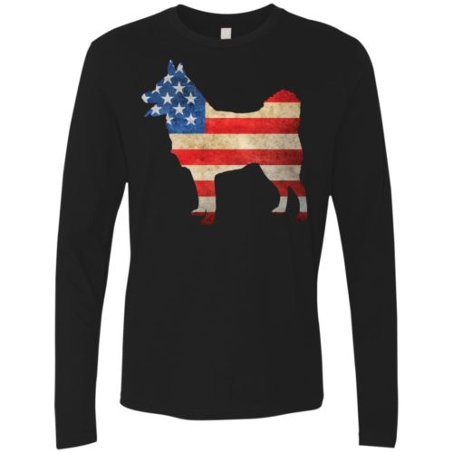 Vintage Schipperke USA Premium Long Sleeve Shirt