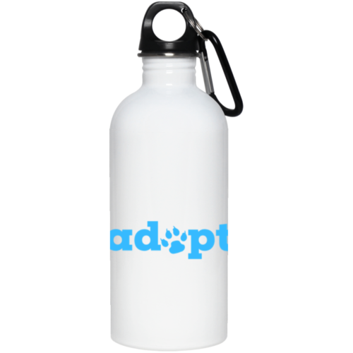 Adopt Paw Stainless Steel Water Bottle