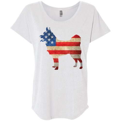 Vintage Schipperke USA Ladies' Slouchy T-Shirt
