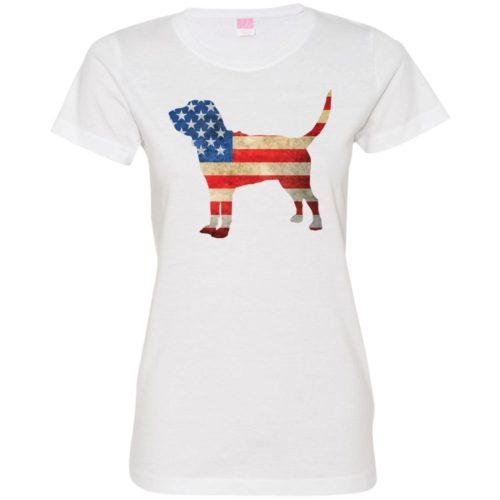Vintage Bloodhound USA Ladies' Premium T-Shirt