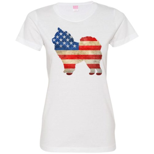 Vintage Chow Chow USA Fitted Tee