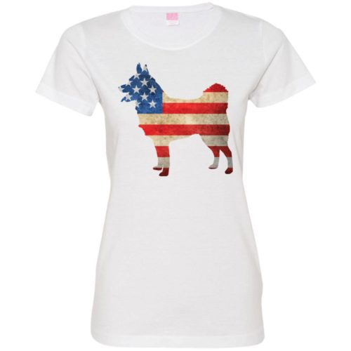 Vintage Schipperke USA Ladies' Premium T-Shirt