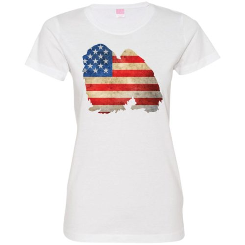 Vintage Japanese Chin USA Fitted Tee