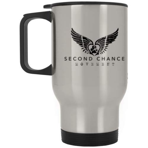 Second Chance Movement™ Stainless Steel Travel Mug