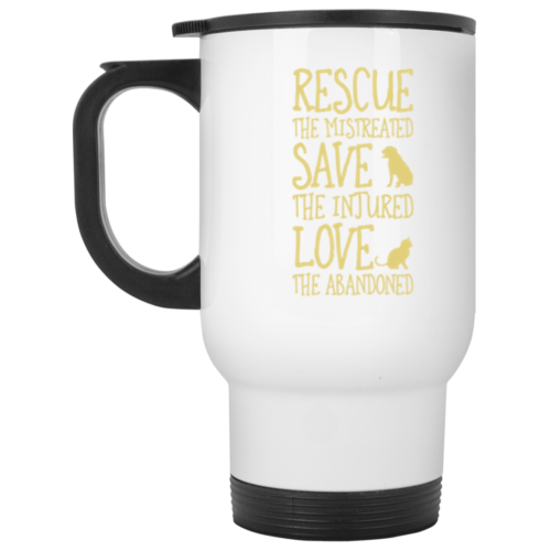 Rescue Them Stainless Steel Travel Mug