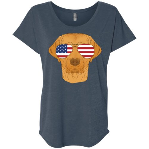 Cool Dog USA Ladies' Slouchy T-Shirt