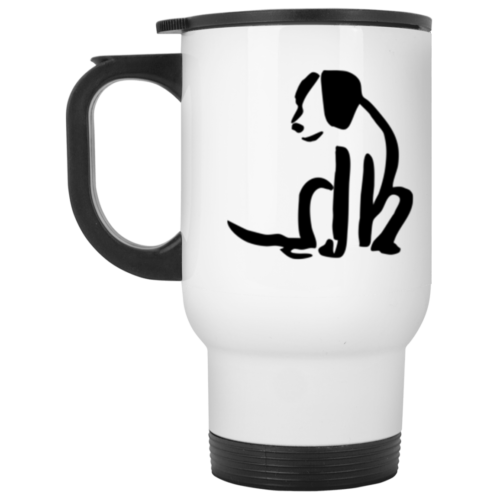 Wiggle Butt Stainless Steel Travel Mug