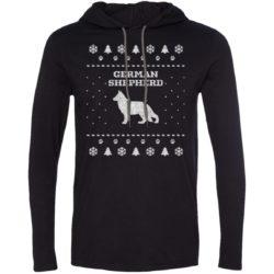 German Shepherd Christmas T-Shirt Hoodie