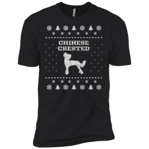 Chinese Crested Christmas Premium Tee