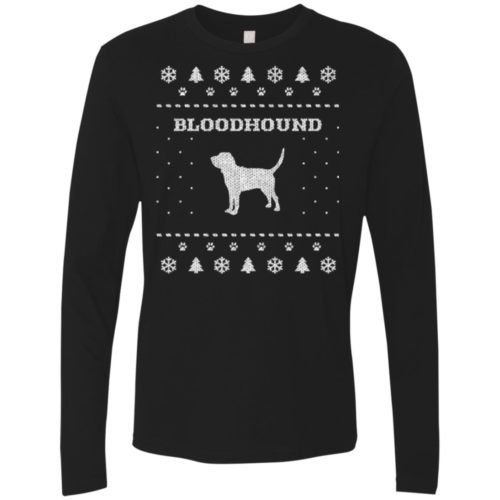 Bloodhound Christmas Premium Long Sleeve Tee