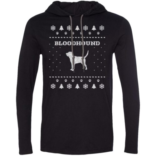 Bloodhound Christmas T-Shirt Hoodie