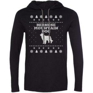 Bernese Mountain Dog Christmas T-Shirt Hoodie