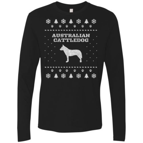 Australian Cattledog Christmas Premium Long Sleeve Shirt