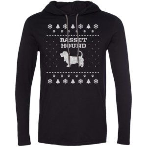 Basset Hound Christmas T-Shirt Hoodie