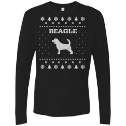 Beagle Christmas Premium Long Sleeve