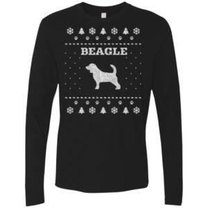 Beagle Christmas Premium Long Sleeve Tee