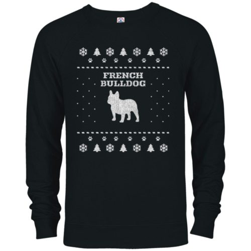 French Bulldog Christmas Premium Crew Neck Sweatshirt
