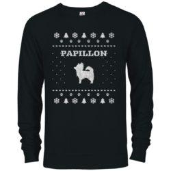 Papillon Christmas Premium Crew Neck Sweatshirt