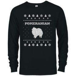Pomeranian Christmas Premium Crew Neck Sweatshirt
