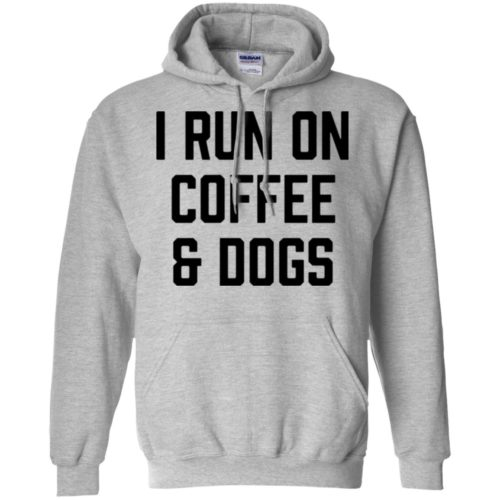 I Run On Coffee Pullover Hoodie