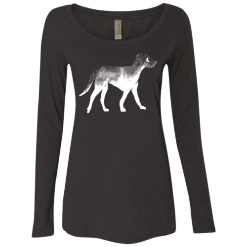 Dog Soul Fitted Scoop Neck Long Sleeve