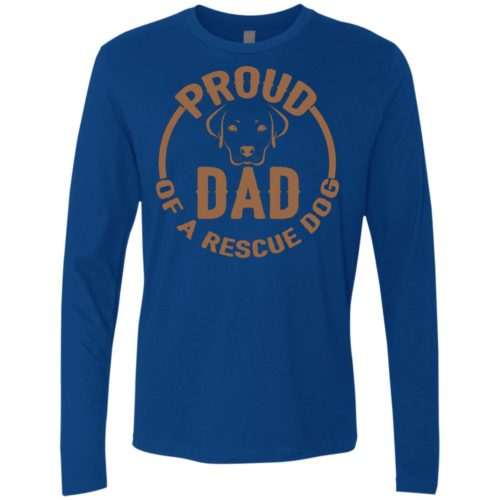 Proud Dad Premium Long Sleeve Tee