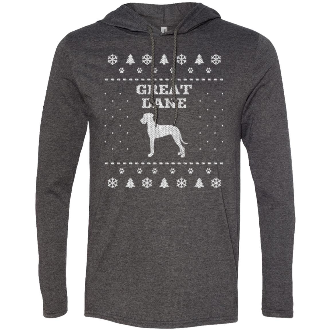 Great Dane Christmas T-Shirt Hoodie