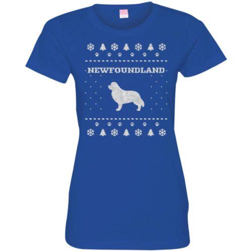 Newfoundland Christmas Ladies' Premium T-Shirt