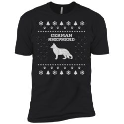 German Shepherd Christmas Premium T-Shirt