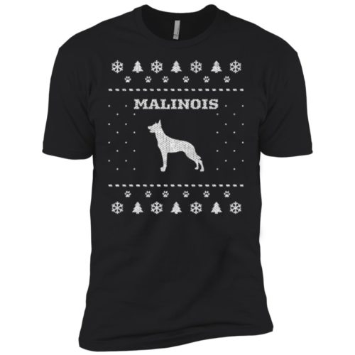 Malinois Christmas Premium Tee