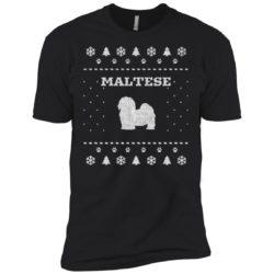 Maltese Christmas Premium T-Shirt