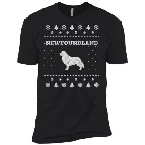 Newfoundland Christmas Premium T-Shirt
