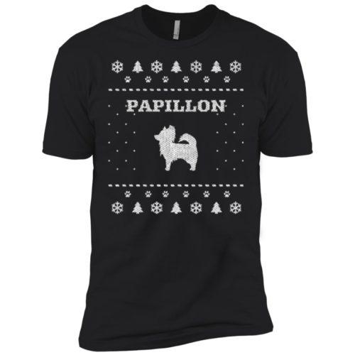 Papillon Christmas Premium T-Shirt
