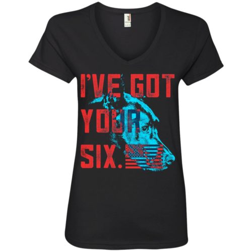 Got Your Six V-Neck Tee