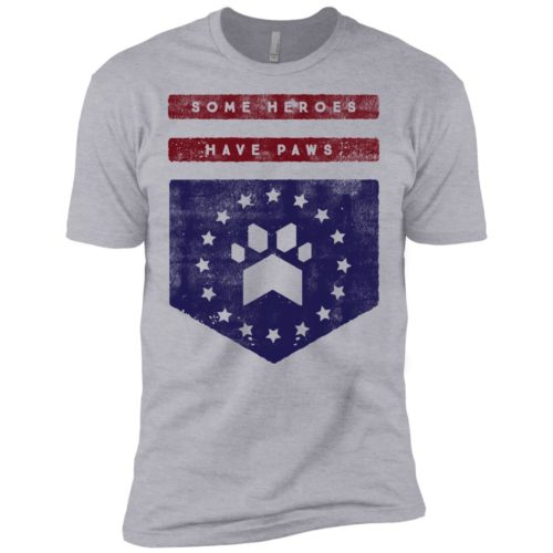 Heroes Have Paws Premium T-Shirt