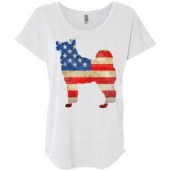 Vintage Akita USA Ladies' Slouchy T-Shirt