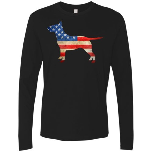 Vintage Bull Terrier USA Premium Long Sleeve Tee
