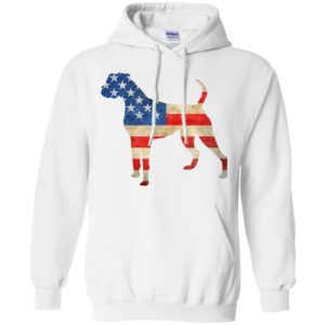 Vintage Boxer USA Pullover Hoodie