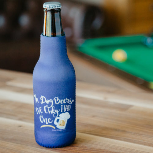 In Dog Beers Bottle Insulated Drink Holder