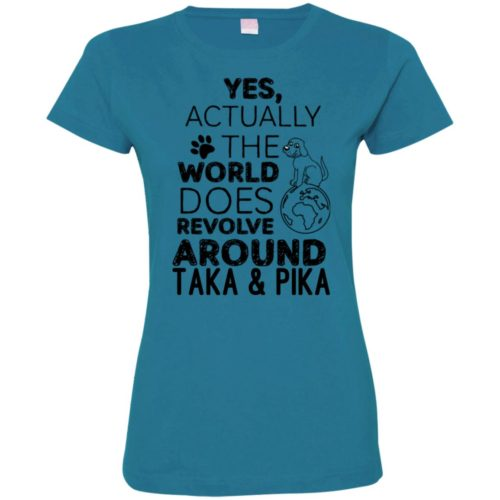 Yes, The World Personalized Fitted Tee
