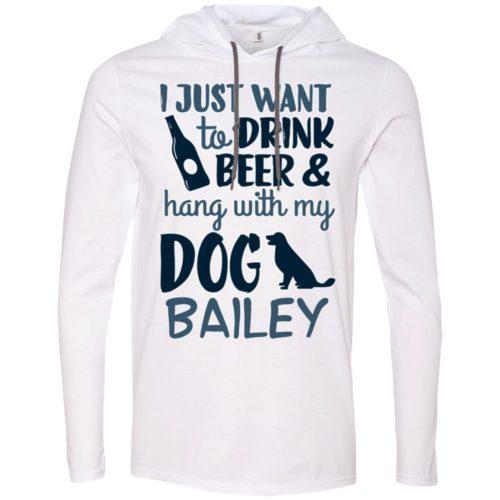 Drink Beer & Hang Personalized T-Shirt Hoodie