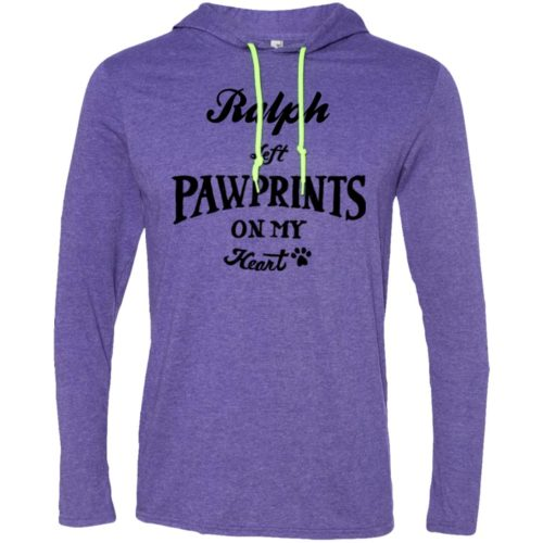 Pawprints On My Heart Personalized T-Shirt Hoodie