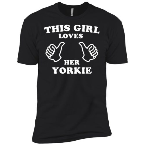This Girl Loves Her Yorkie Premium Tee