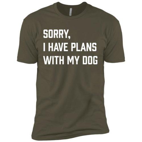 Sorry, I Have Plans Premium T-Shirt
