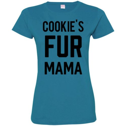 Fur Mama Personalized Fitted Tee