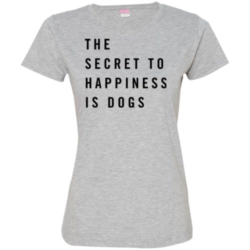 The Secret To Happiness Fitted Tee