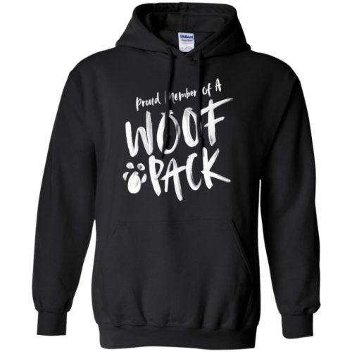 Woof Pack Pullover Hoodie