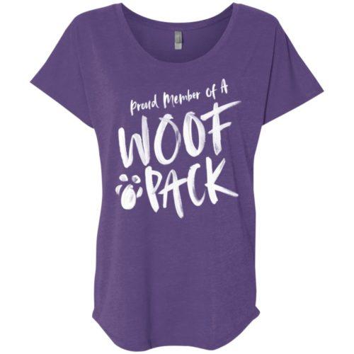 Woof Pack Slouchy Tee