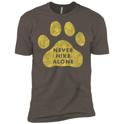 Never Hike Alone Premium Tee