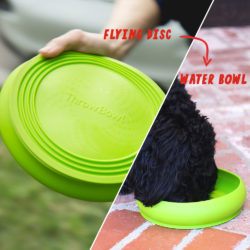 ThrowBowl™ The Water Bowl Your Pup Can Play With - Assorted Colors